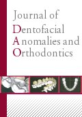 Journal of Dentofacial Anomalies and Orthodontics Cover page